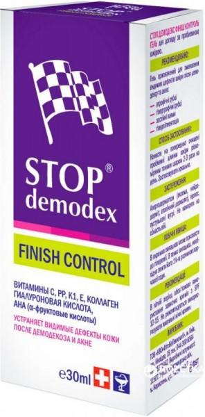 Гель Stop Demodex Финиш Контроль, 30 мл