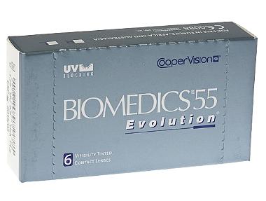 Контактные линзы Biomedics55 Evolution +5.50 +0.00 d14.2 8.8