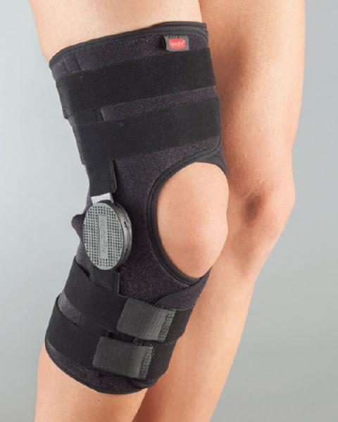 Бандаж на колено с шарниром для регулирования угла сгибания размер универсальный 3125 АУРАФИКС