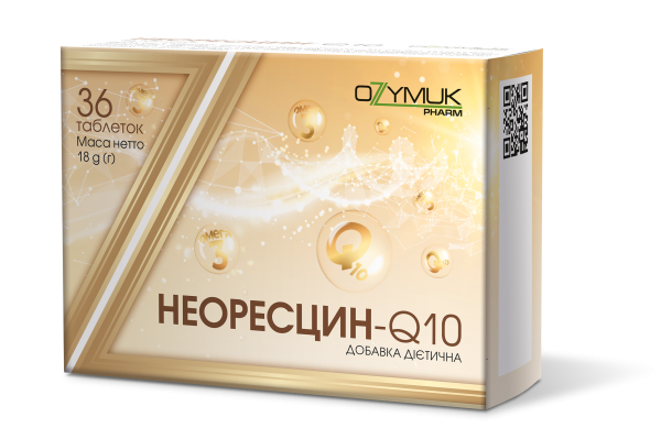 Неоресцин-Q10 таблетки для общего укрепления организма, 36 шт.