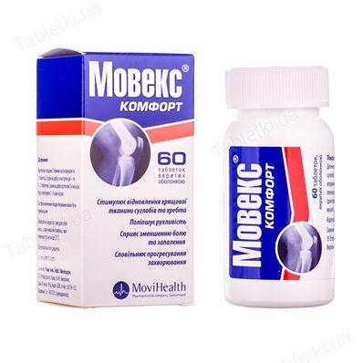 Мовекс Комфорт N60 таблетки